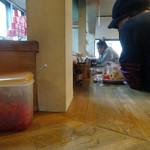 まるきん - 「まるきん」カウンター席