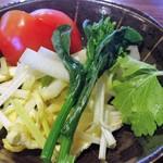 83486946 - 季節野菜の小鉢