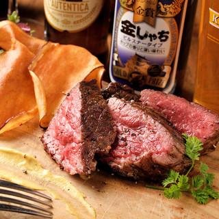 ◆グリルした後に500℃で焼き上げる窯焼き肉!