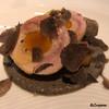 カーサ・デル・チーボ - 料理写真:シャモロックのロートロに黒トリュフ