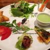 燙菜 - 料理写真:地野菜のプレートセット