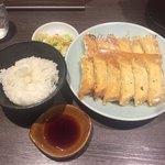 83488933 - 焼餃子+ライス