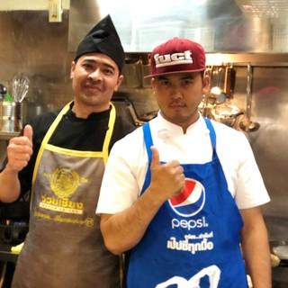 ベテランタイ人コックが作る本格タイ料理
