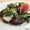 ル ムロン デ オワゾ - 料理写真:小川原湖牛のランプ肉のロースト