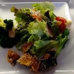 ココノワ - 日替わりランチのサラダ