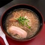 ラーメンハウス にぼ兄弟 - 料理写真:燕三条系濃厚煮干ラーメン 790円