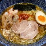 ちばき屋 - 冷やしラーメン「和風っスープ」