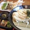 うどん 色彩 - 料理写真:鯛ちく天ざる  850円