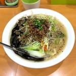 麺や遊大 - 料理写真:味噌タンメン 黒 900円