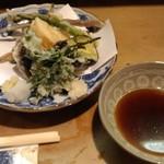 割烹田中 - 春野菜てんぷら