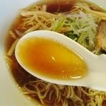 喜粋 - クリアな醤油スープ(醤油)