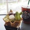 祇園辻利 - 料理写真:つじりツリーソフト(3色)