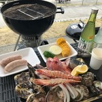 道の駅 みつ シーサイドレストラン 魚菜屋 -