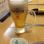 赤坂一龍 - 生ビール