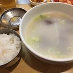 赤坂一龍 - ソルロンタン&ご飯