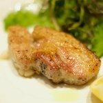 la Brianza - ランチコース 3000円 の白金豚のグリル