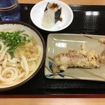 さか枝うどん - 本日のお昼ごはん