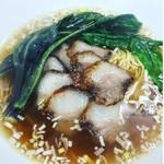 ア・ターブル・エスプリ - イベリコ豚のチャーシュー麺