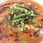 ア・ターブル・エスプリ - 赤い担々麺