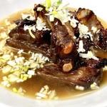 ア・ターブル・エスプリ - スペアリブのチャーシュー麺