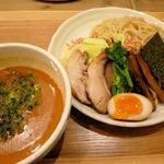 タムラ食堂 - 春海老SIOつけ麺