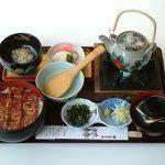 味処 大番 - 料理写真:うなぎまぶしご飯(2,500円)
