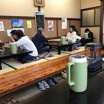 ニュー長田屋 - 店内をパシャ 客が多い 土曜日の12時半