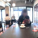 カフェレストラン ルシェッロ - 内観をパノラマで