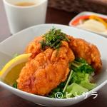 ヒビキ カフェ - 国産鶏の塩だれ『からあげ丼』