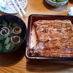 村田家 - 鰻重と肝吸い