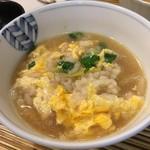 季節料理 三味 - ねぎま鍋の出汁で雑炊