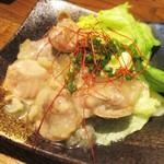 肉汁餃子製作所 ダンダダン酒場 - バリバリ油淋鶏 690円(税別)。     2018.03.27