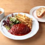 ・淡路産牛特製ハンバーグ  バーベキューソース≪限定30食≫