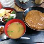 末喜 - カレー丼定食 700円