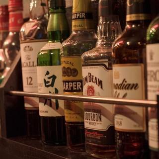≪お酒がぐいぐい進む♪≫ビール、ショット、リキュール豊富◎