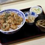天ぷら てんちゃん - えびプリッ丼(ごはん大盛)