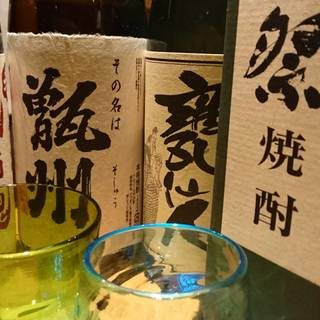 厳選な地酒・焼酎