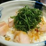 麺処 篠はら - 限定飯 350円