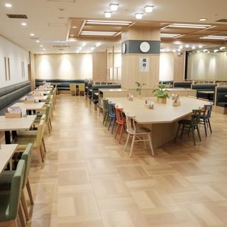 王寿庵の広々空間でお食事を