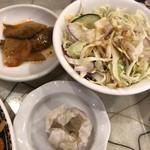 上海台所 - 定食の小鉢類