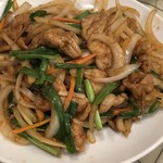 上海台所 - ランチ友の豚肉の生姜焼き