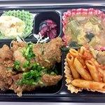 屋台DELi - 唐揚げ(油淋鶏)弁当450円