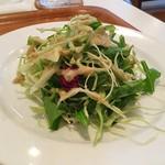 ユーカリー - 【セットのサラダ】糸島産の野菜を使っているそうです。
