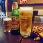 PARAGON - ビールで乾杯です~\(^^)/