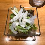 大屋冨幸  - サラダ、フレンチドレッシング