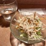 シャングリーラ - ランチセットのサラダ
