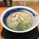 餃子の王将 - 料理写真:日替わりランチの塩豚骨ラーメン(650円)