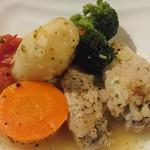 ほなな - 鶏肉と野菜の煮込み