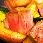 スケッチ - 泉州犬鳴豚肩ロースと野菜のロースト
