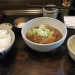 83518218 - 牛タン煮込み定食 850円(税込)